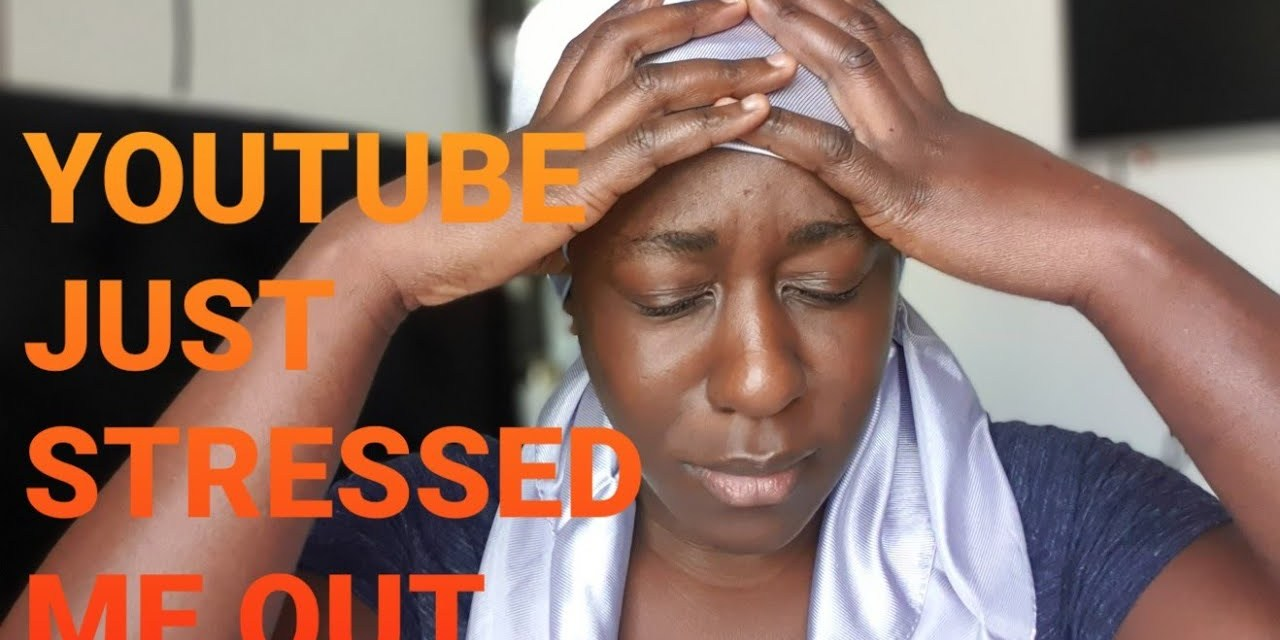YOUTUBE STRESSED ME OUT | DELETED VIDEO | RANT | STORY TIME
