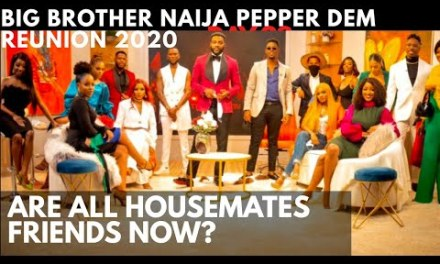 BBNaija REUNION 2020 FINAL EPISODE | ARE ALL THE HOUSEMATES TRULY FRIENDS NOW?