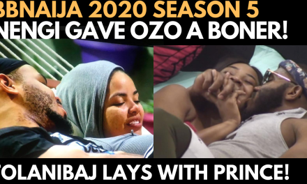 BBNAIJA 2020: NENGI SEDUCES OZO 2 AN ER€T!ON | TOLANIBAJ LAYS WITH PRINCE