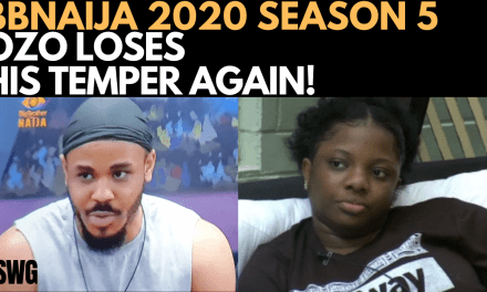 BBNAIJA 2020: PRINCE WINS ARENA GAMES | OZO LOSES HIS TEMPER AGAIN | DORATHY IS SICK