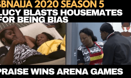 BBNAIJA 2020: PRAISE WINS ARENA GAMES AGAIN