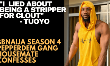 FSWG : TUOYO CONFESSES HE LIED ABOUT BEING A STRIPPER FOR CLOUT