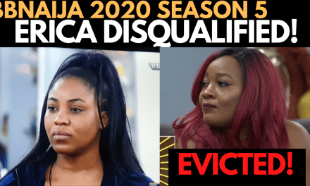 BBNAIJA 2020: ERICA DISQUALIFIED   LUCY EVICTED