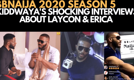 BBNAIJA 2020: KIDDWAYA BEGINS HIS BEEF WITH LAYCON & OTHER HOUSEMATES