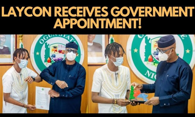 BBNAIJA 2020: LAYCON RECEIVES GOVERNMENT APPOINTMENT IN OGUN STATE