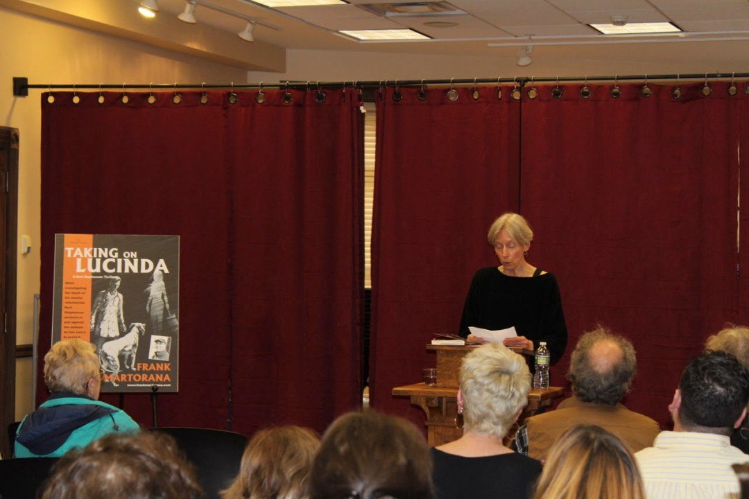 Taking on Lucinda Book Launch