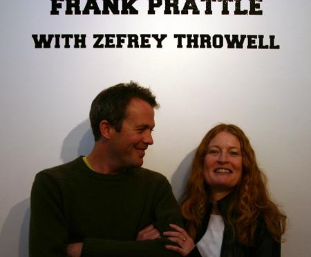 Frank Prattle with Zefrey Throwell, Tucker Nichols and Anne Colvin
