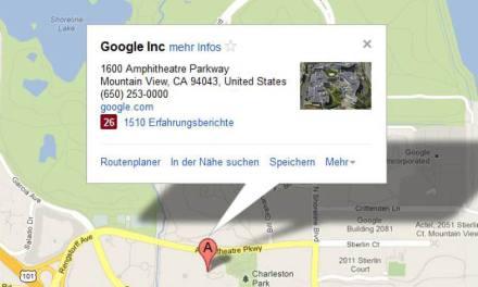 Google Maps in die eigene Webseite einbinden