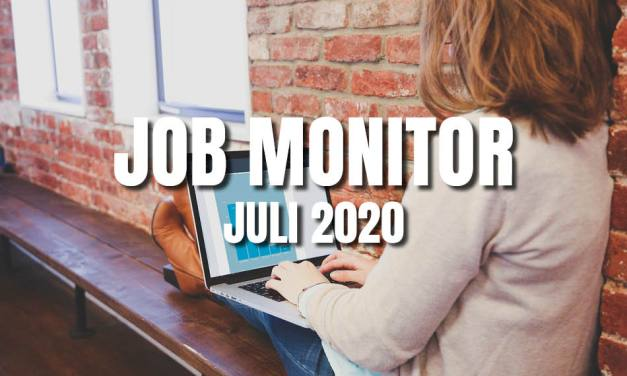 Marketing Job Monitor Juli 2020