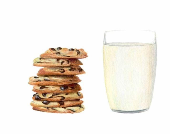 lyvia cookies milk
