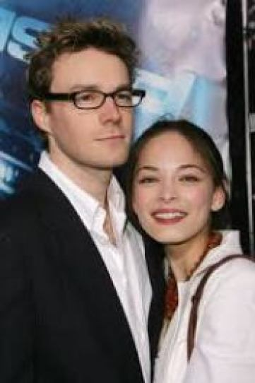 Mark Hildreth with former girlfriend Kristin Kreuk.