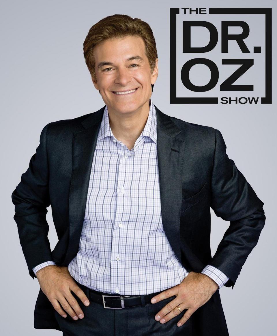 Dr Mehmet Oz Portrait