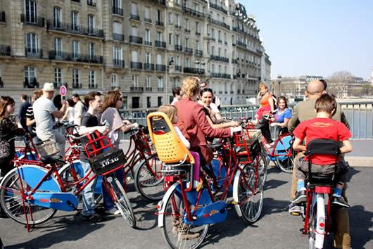 Fietsen in Parijs, ook met kids!