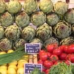 Markt en lekker eten in Lectoure