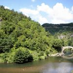 Naar het Naturel Régional des Grands Causses