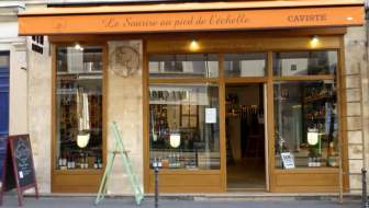 Le Sourire au pied de l'échelle: bijzondere wijnwinkel in Parijs