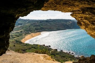 Tal Mixta Cave und Ramla Bay