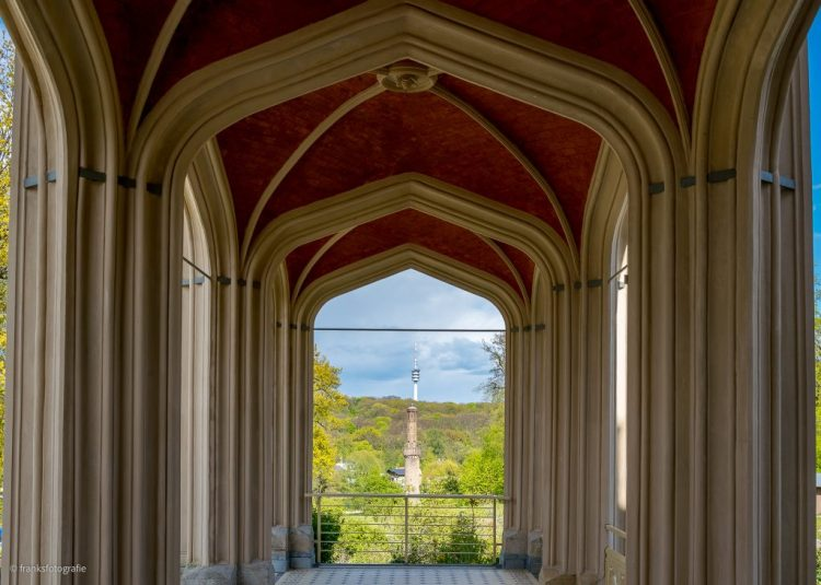 Schloss Babelsberg Blaue Terrasse