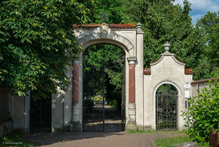 Schloss Blankensee Parkeingang