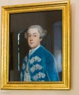 Der Neffe der Hausherrin - Fürst Franz gemalt von Lisiewsky. Das Bild konnte erst 2010 wieder für Mosigkau erworben werden.