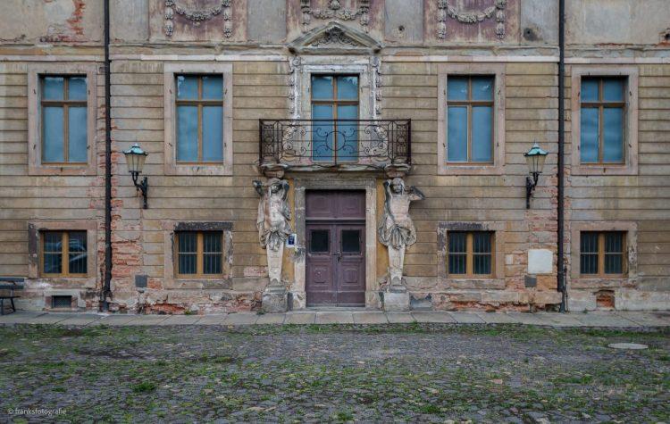 Schloss Altenburg erkunden Festsaaltrakt