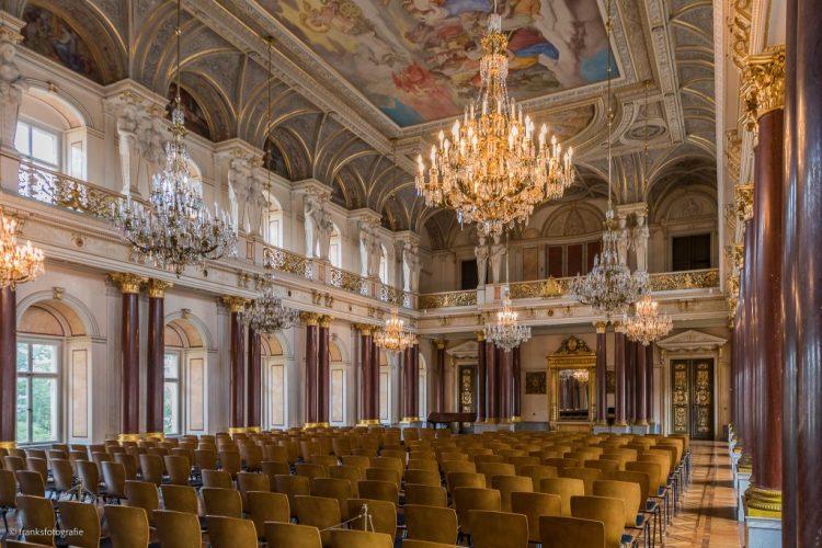 Schloss Altenburg erkunden Festsaal