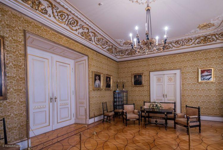 Scimmerhloss Altenburg erkunden Empirezimmer