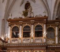 Die Fürstenloge in der Schlosskirche