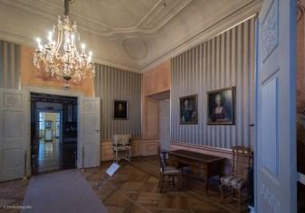 Wohnraum in der kurfürstlichen Etage