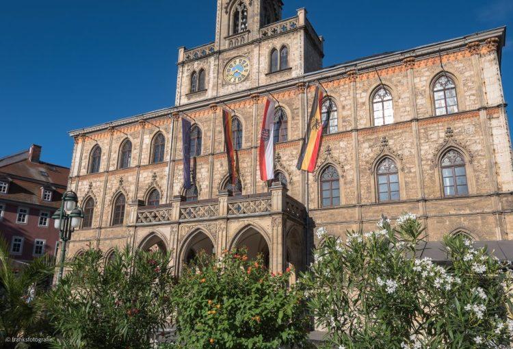Weimar erkunden Rathaus