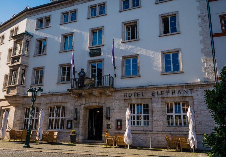 Weimar erkunden Hotel Elephant
