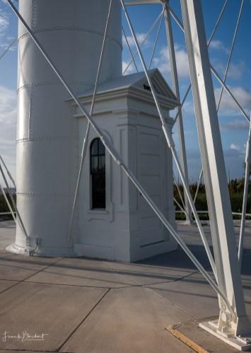 Der Eingang zum Leuchtturm