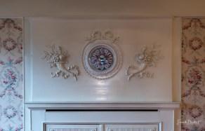 Wanddekor im Kabinett