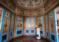 Zwischen der Goethegalerie und dem Schillerzimmer