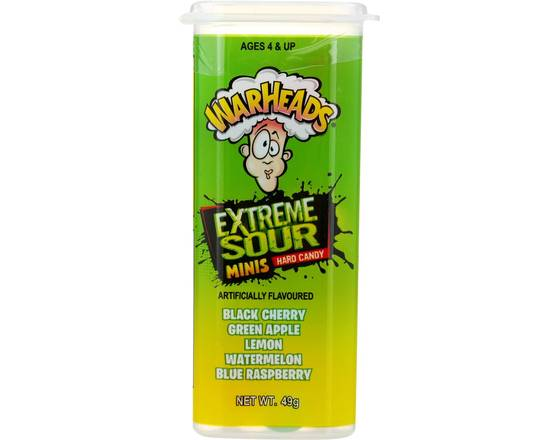 Warheads Extreme Sour Juniors 49g