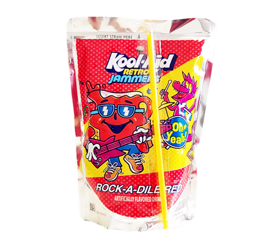 KOOL-AID RETRO JAMMERS ROCK-A-DILE RED