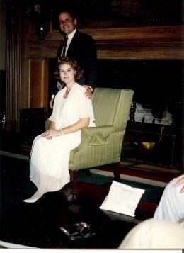 Former wife Michelle Broussard Summers and I -- Sea Island Georgia