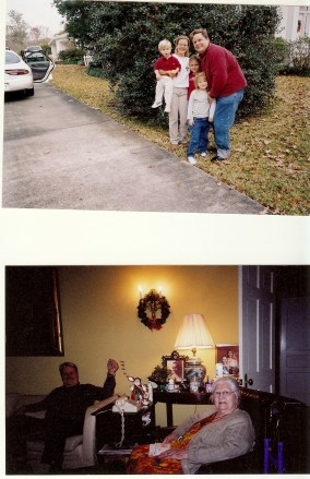 Gammie presided over family gathering with my grandfather and namesake and after him for a long time.