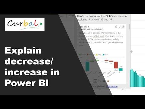 A Closer Look at the Increase/Decrease ML Algorithm in Power BI