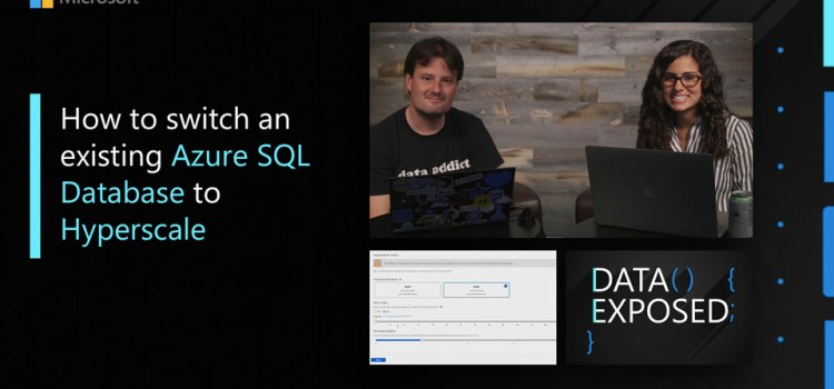How to Switch an Existing Azure SQL Database to Hyperscale