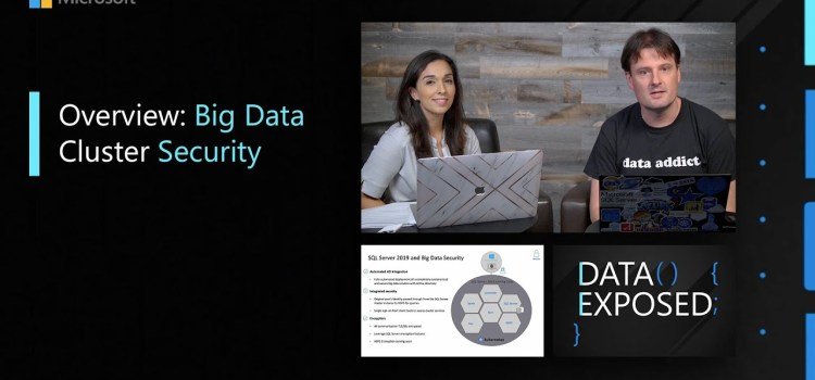 Overview: Big Data Cluster Security
