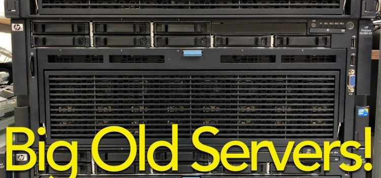 A Look at Big Old Expensive Servers