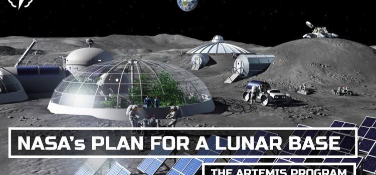 NASA's Plan For A Permanent Moon Base