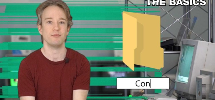Why You Can't Name A File CON In Windows