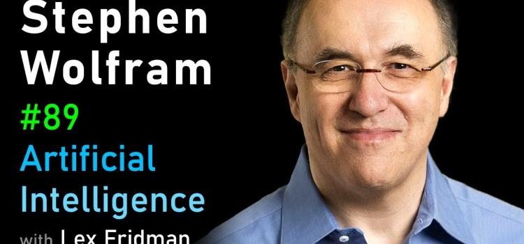 Stephen Wolfram on Cellular Automata, Computation, and Physics