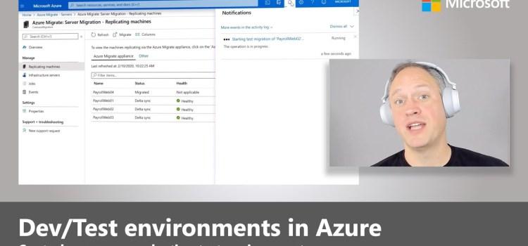 Dev/Test in Azure