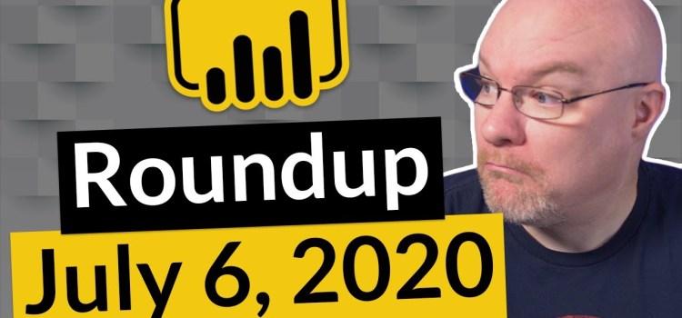 Power BI Community Roundup