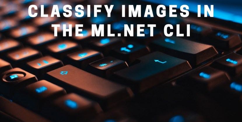 Using the ML.NET CLI for Image Classification