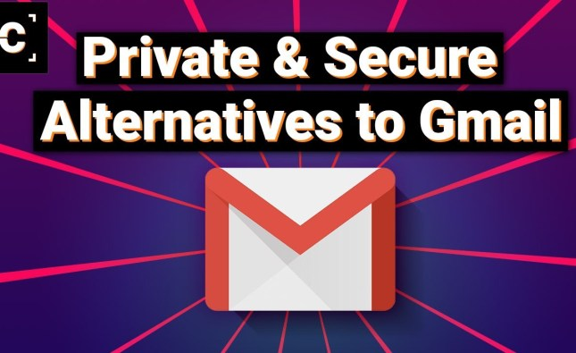Reliable Email Providers More Private than Gmail