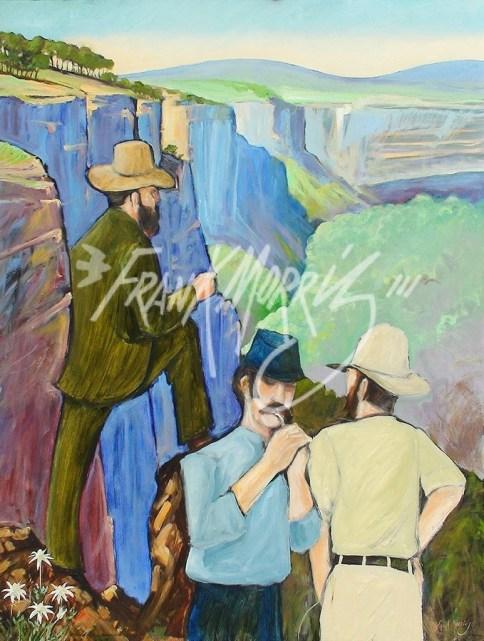 (Y561) 122 x 91 cm Blaxland, Wentworth and Lawson 1813 $375
